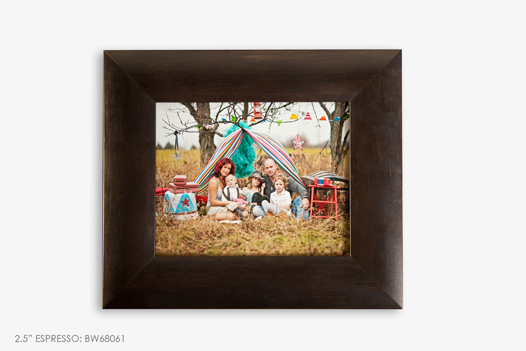 "2.5"" Brown Photo Frame"
