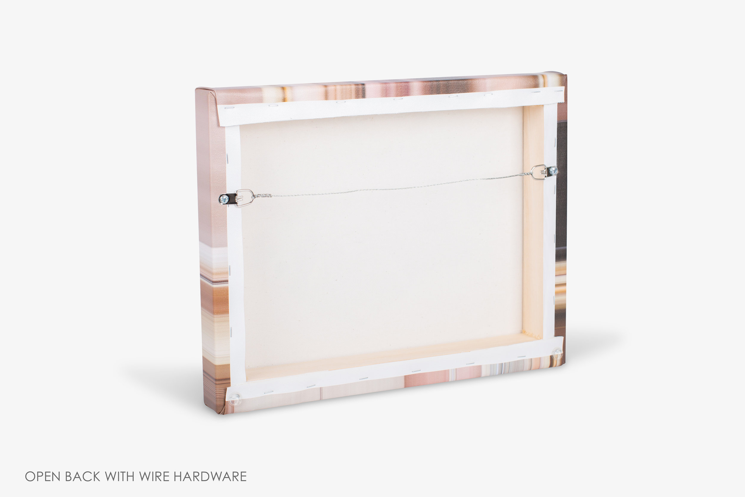 Copy of Gallery Wrapped Canvas Wire Hardware