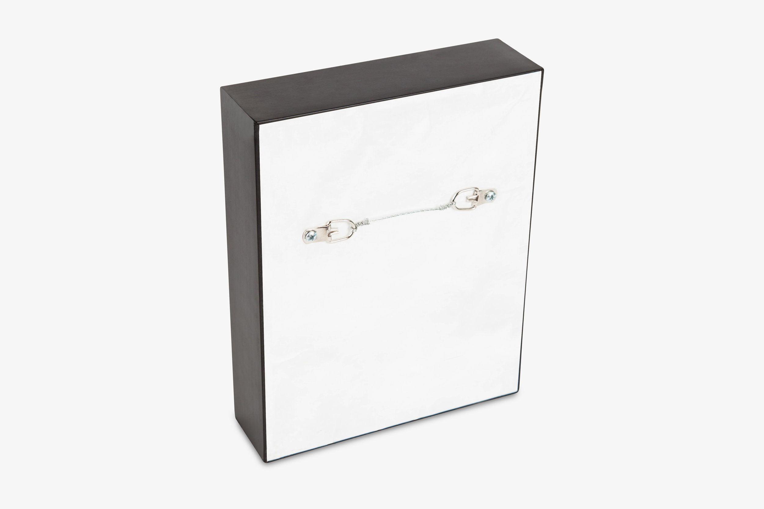 Framed Gallery Wrap Canvas with Tyvek Backing and Wire Hardware