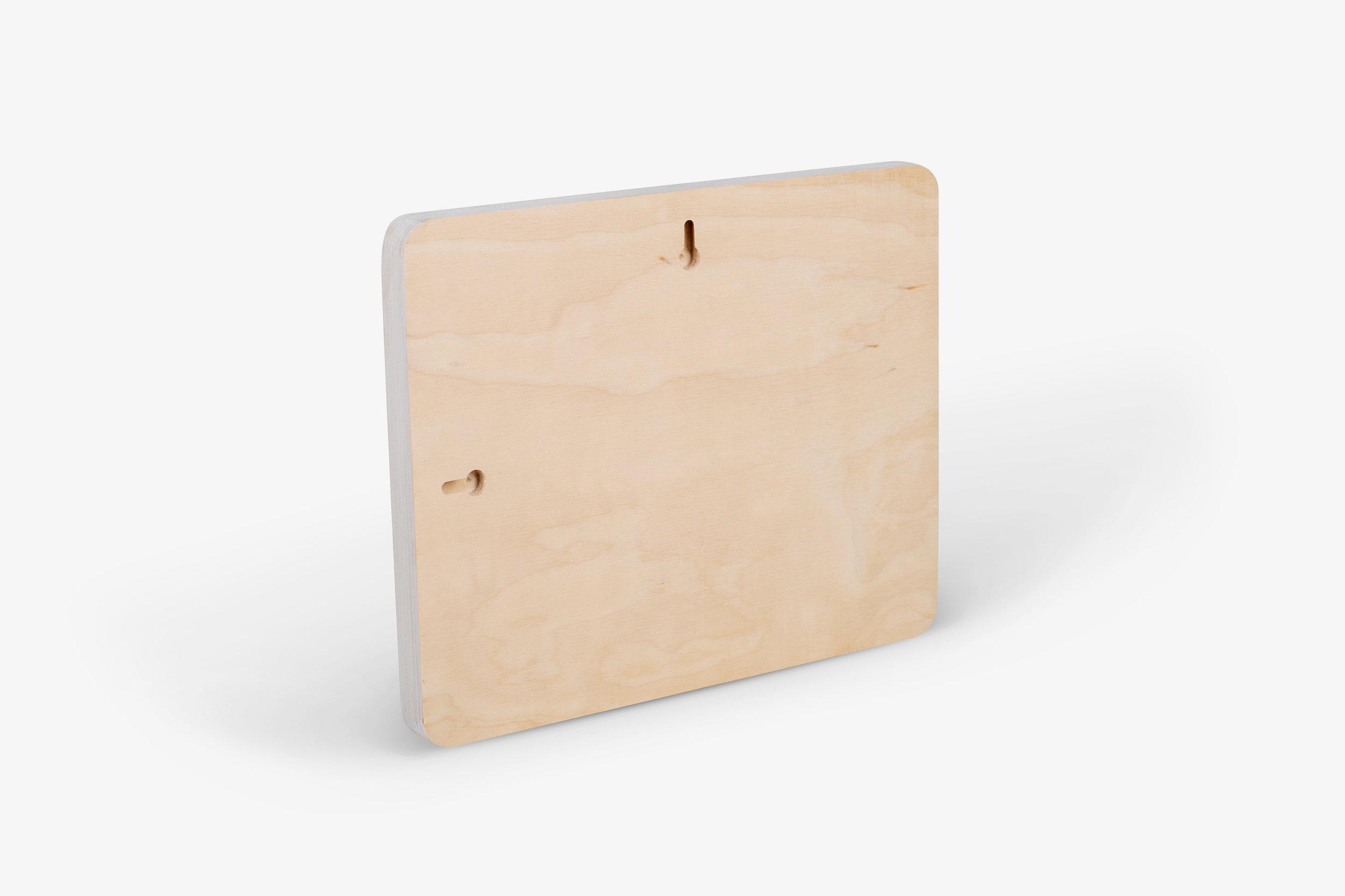 Mendoza Wood Print Keyhole