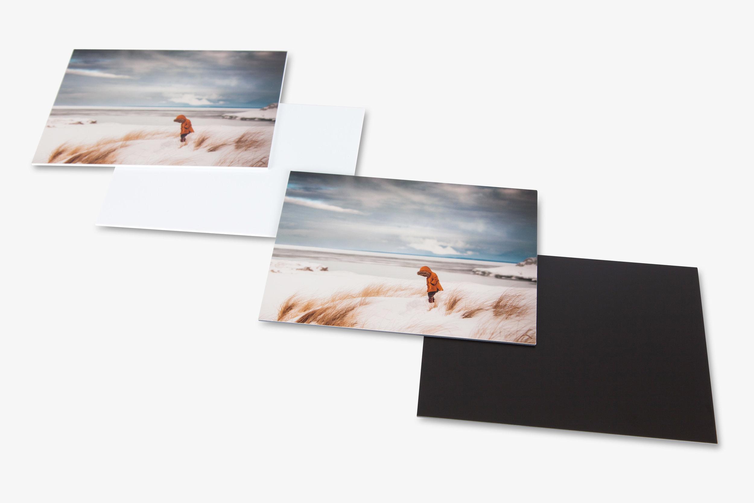 Styrene Mounted Photo Prints