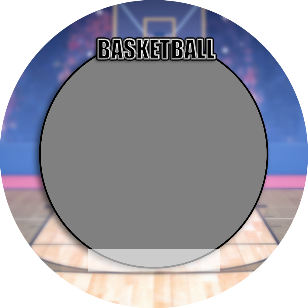 """Sports Baseball Specific Basketball 3"""" Round Magnet and Button"""