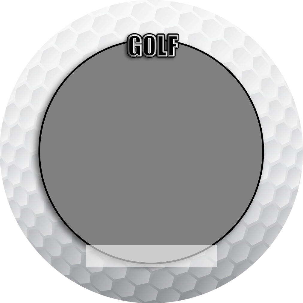 """Sports Baseball Specific Golf 3"""" Round Magnet and Button"""