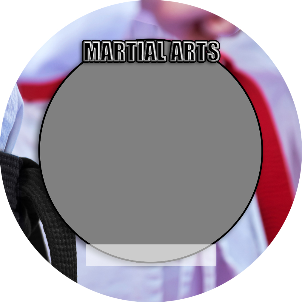 """Sports Baseball Specific Martial Arts 3"""" Round Magnet and Button"""