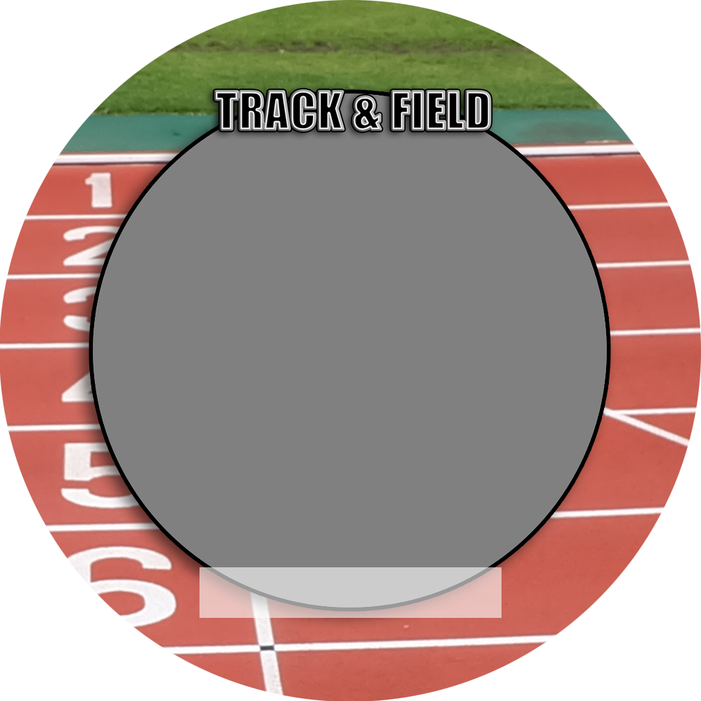 """Sports Baseball Specific Track and Field 3"""" Round Magnet and Button"""