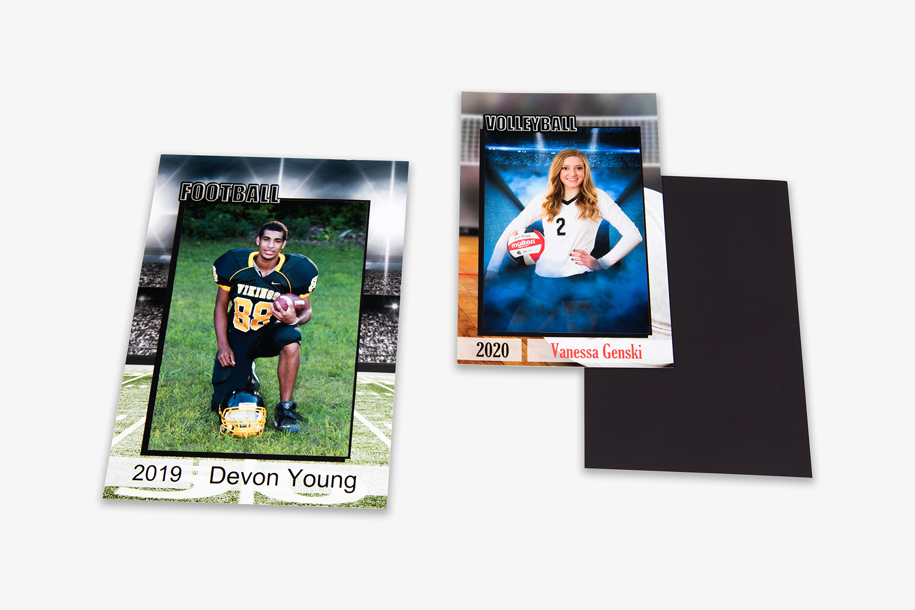 School and Sports Rectangle Magnets 4x6 and 5x7