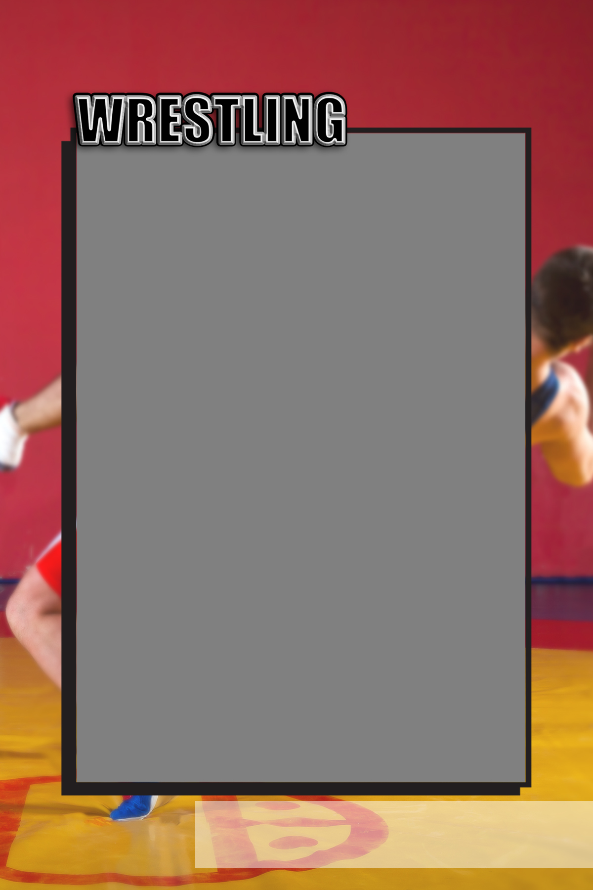 Sports Specific Wrestling Magnets 4x6 and 5x7