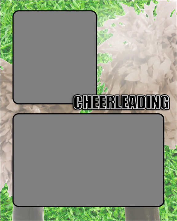 Sports Specific Cheerleading Memory Mate Sports Template