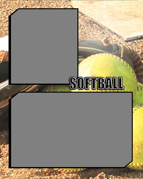 Sports Specific Softball Memory Mate Sports Template