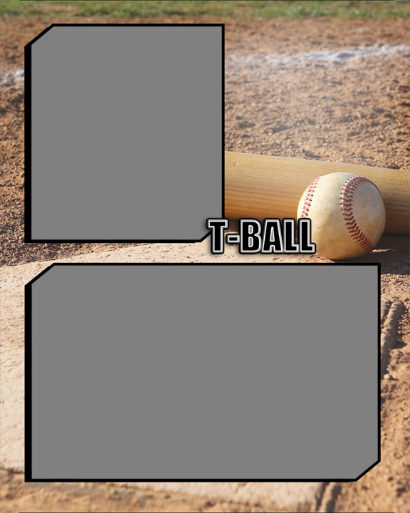Sports Baseball Specific T Ball Memory Mate Sports Template