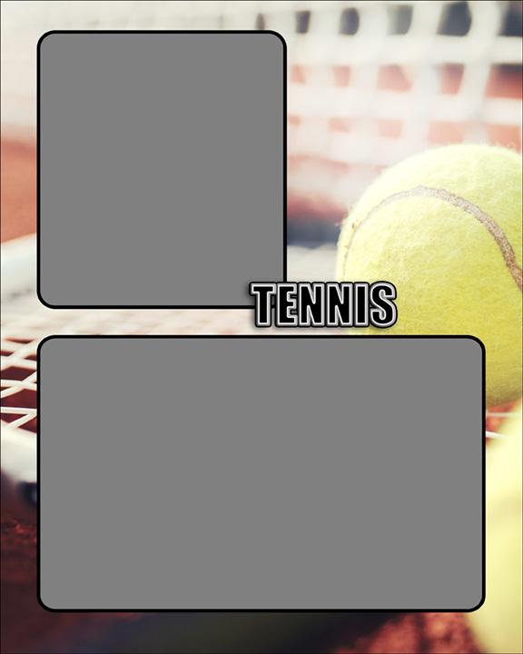 Sports Specific Tennis Memory Mate Sports Template
