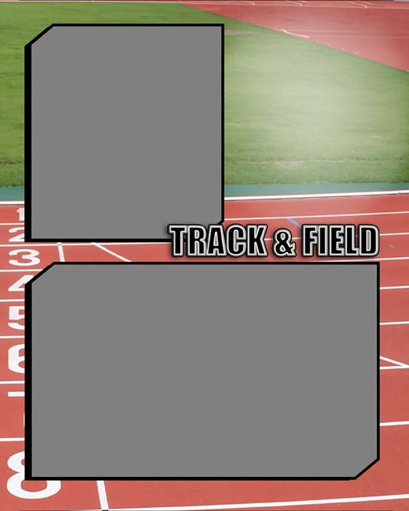 Sports Specific Track and Field Memory Mate Sports Template