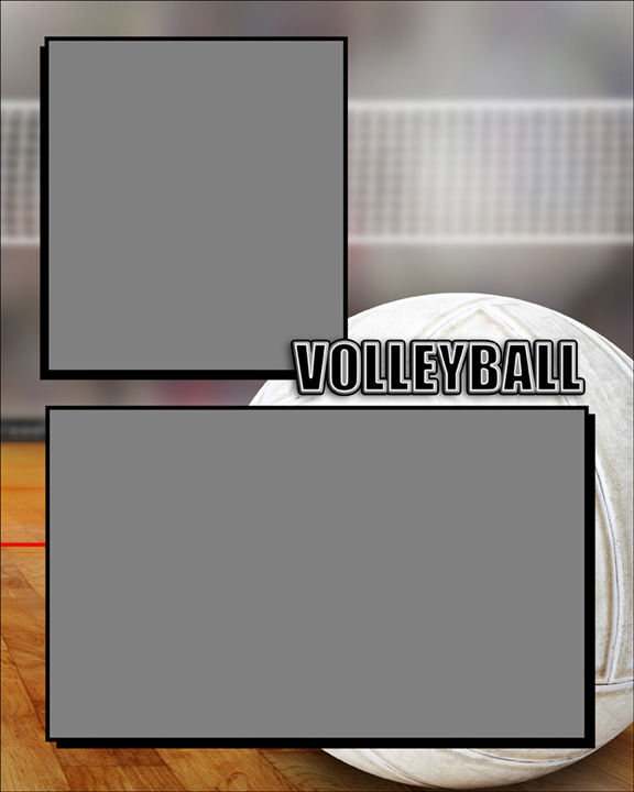 Sports Specific Volleyball Memory Mate Sports Template