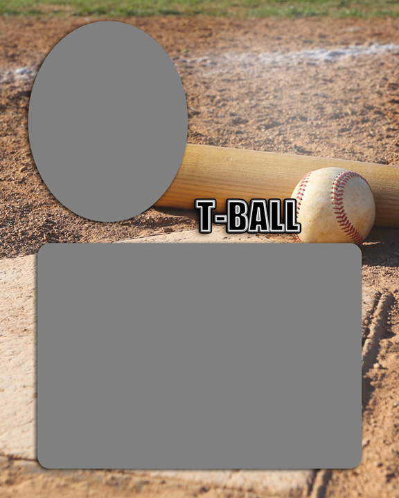 Sports Baseball Specific Tball T-Ball Memory Mate Sports Template