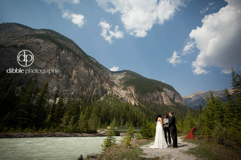 Elopement at Cathedral Mtn Lodge
