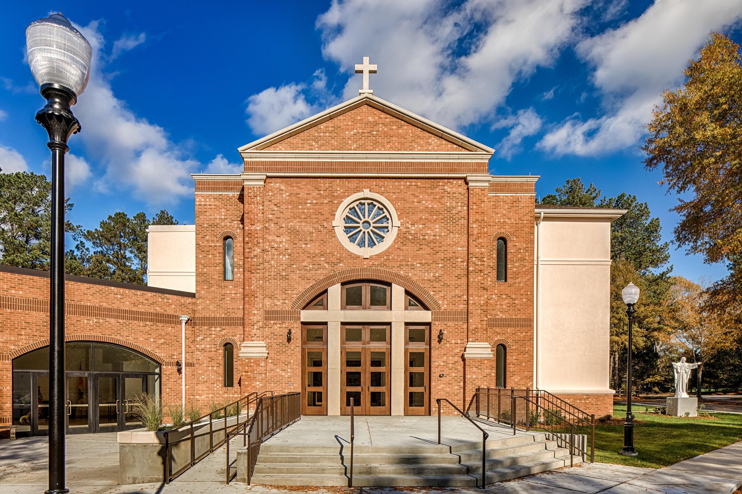 Dedication of St. Luke the Evangelist Roman Catholic Church - December 2017