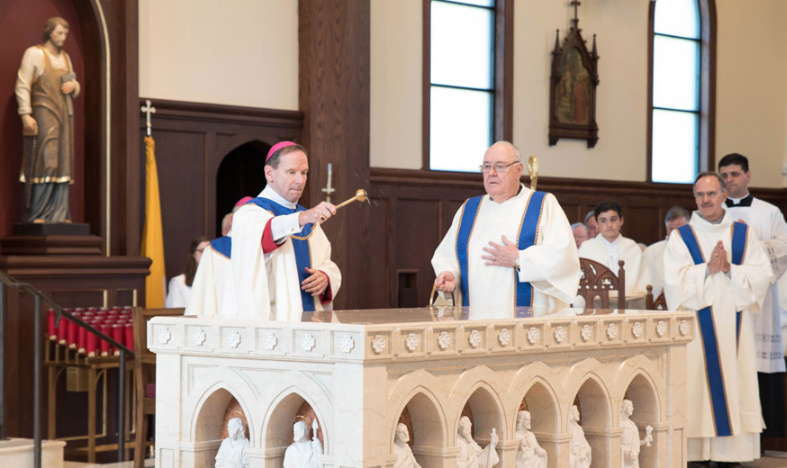 St. Jude Church Dedication - Catholic Herald, July 2018