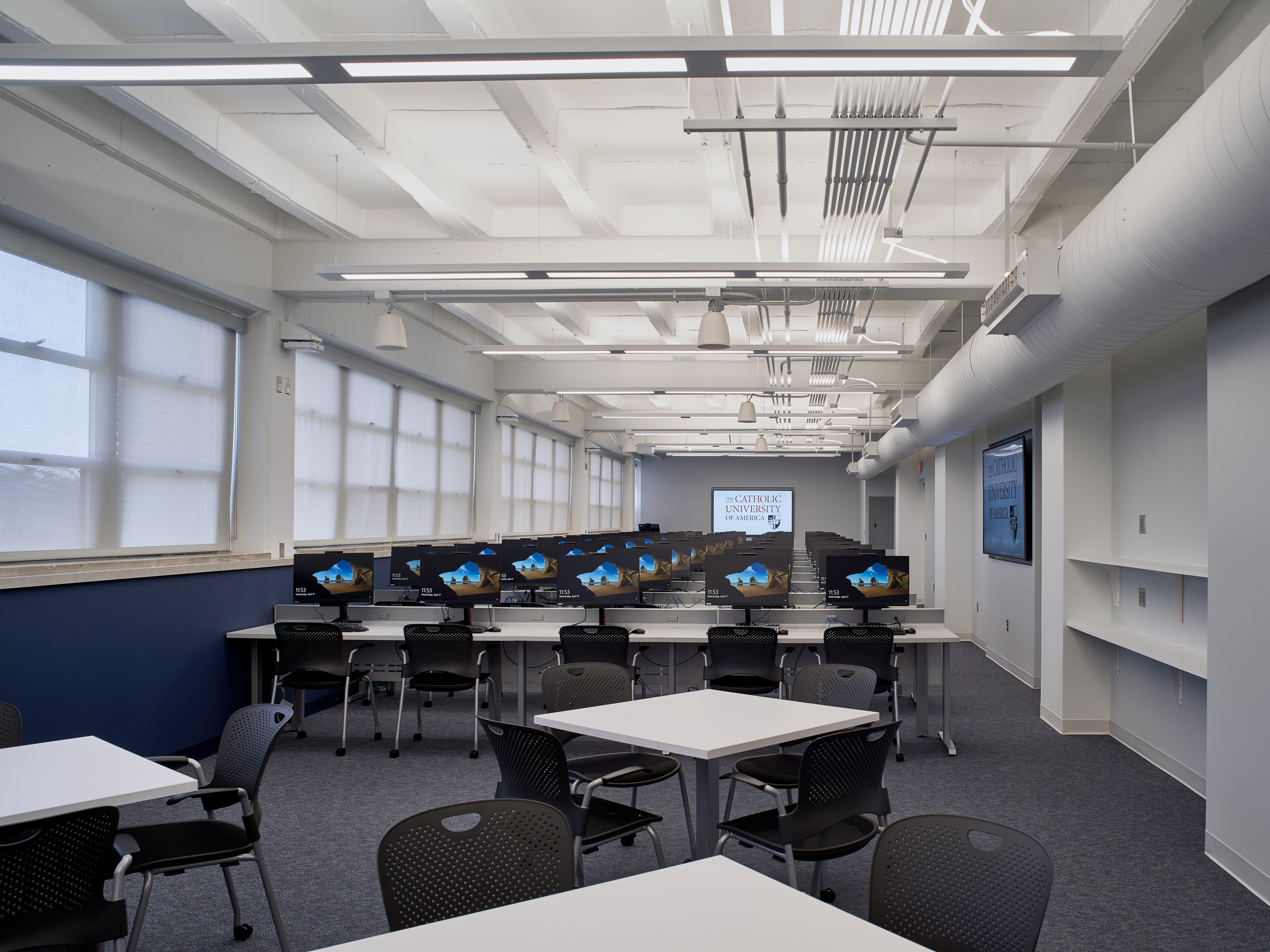 O'Brien & Keane Designs CUA Conway Nursing Lab - WTOP, June 2019
