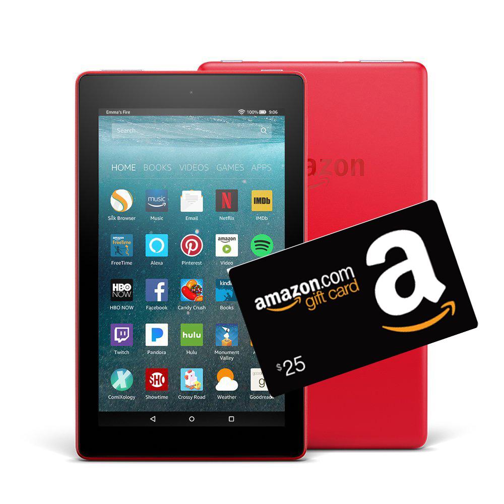 TOP Earner in School = Amazon Fire & $25 Amazon Gift Card