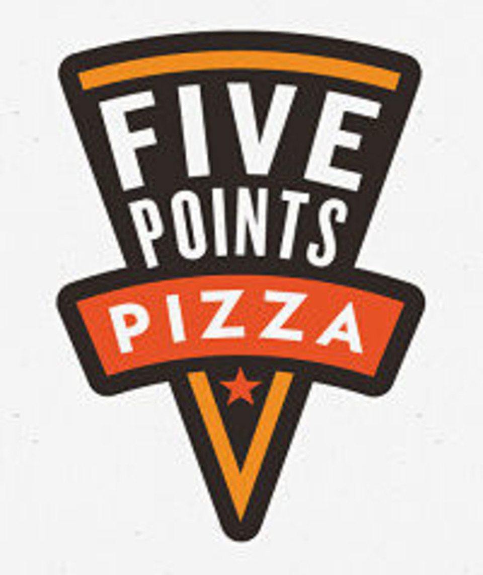 3rd TOP Earner = $25 Five Points Pizza Gift Card