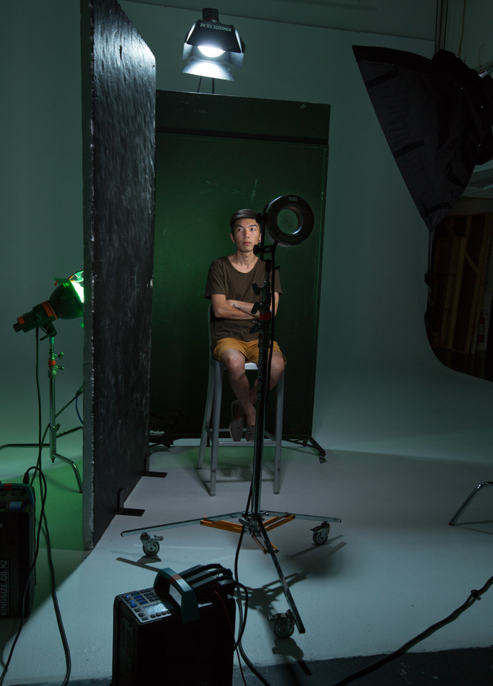 Portrait lighting set-up