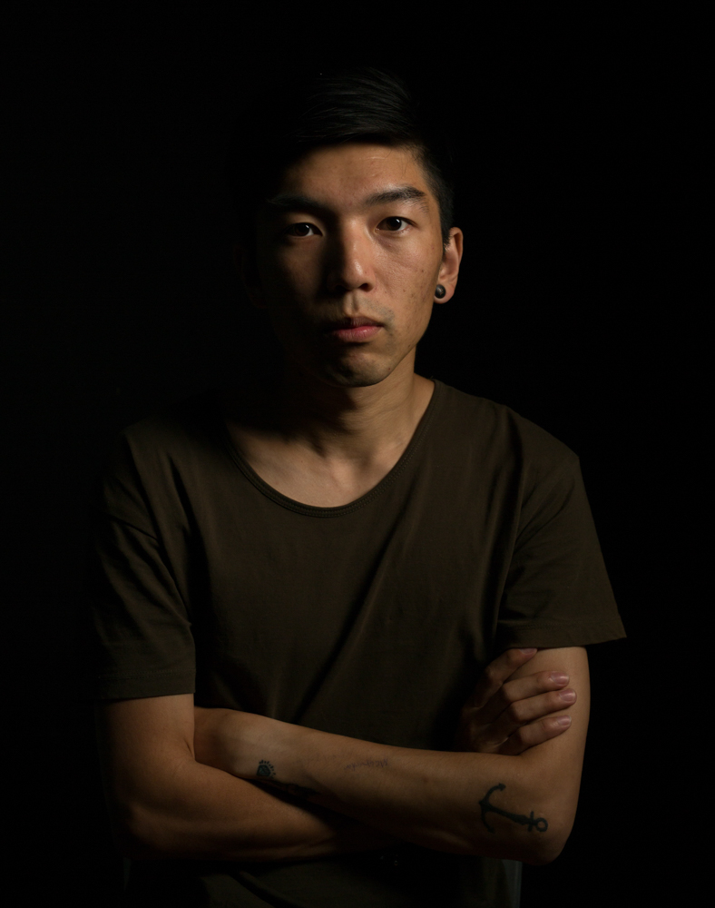 Portrait with key light only
