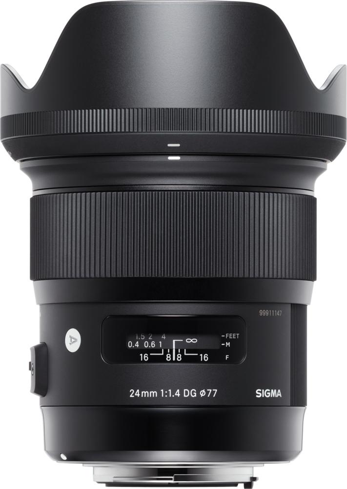 Sigma 24mm f/1.4 Art lens