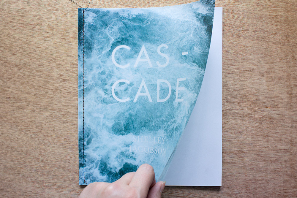 Shelley Jacobson;  Cascade  cover (published 2015 for Open Book)