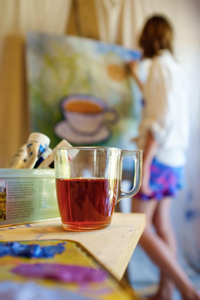 Finalist: A Painter's Tea Break by Murray Chant