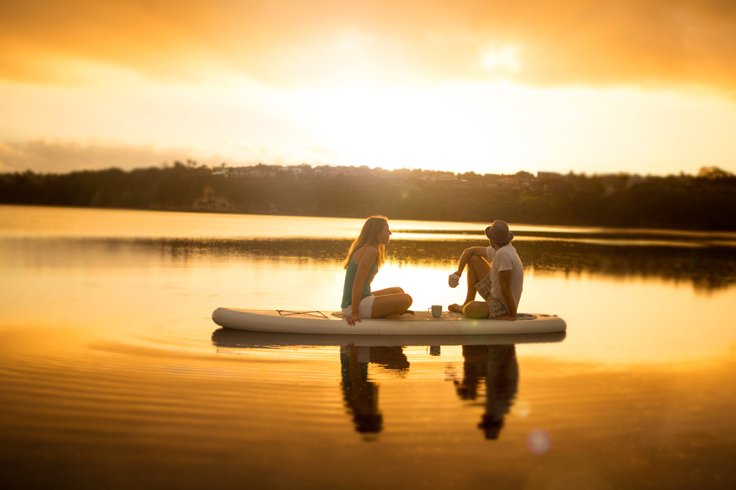 Finalist: Sunrise Cuppa on Lake by Steven Arendt