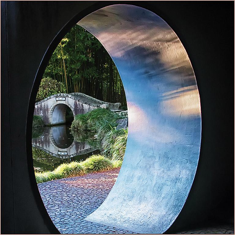 Glimpse the Chinese Garden, Jacqui Stokes