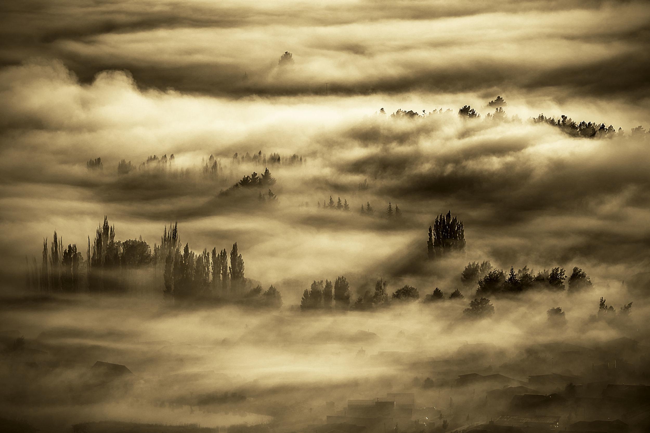 Landscape category winner, Andy Thompson, Hawea Inversion