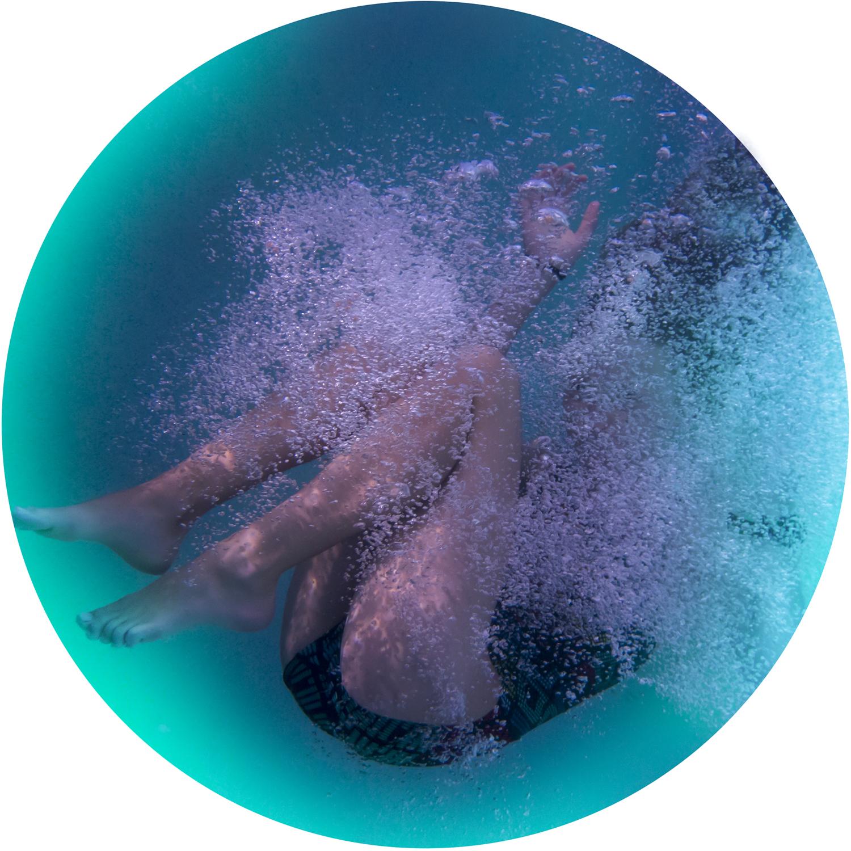 Cathy Carter, La Bulle (Bubble), 2018