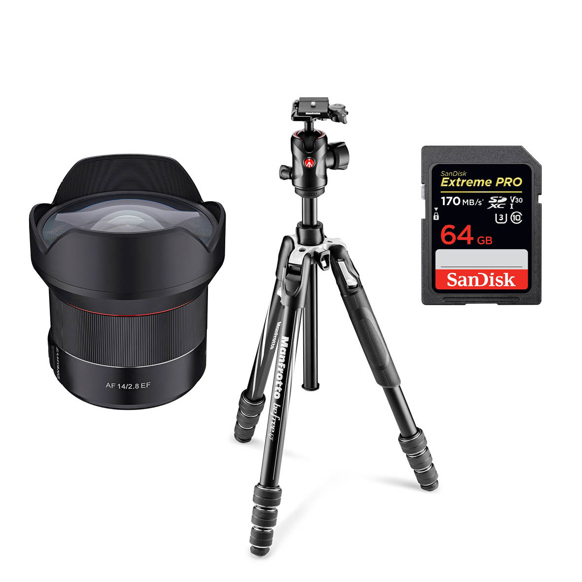 Astro - Sponsored by SamyangFirst: Samyang MF 14mm f/2.8, worth $1399Second: Manfrotto Befree GT Aluminium Travel Twist Tripod, worth $499Third: Sandisk Extreme Pro Micro SDXC 64GB 170MB/S C10, worth $66.95