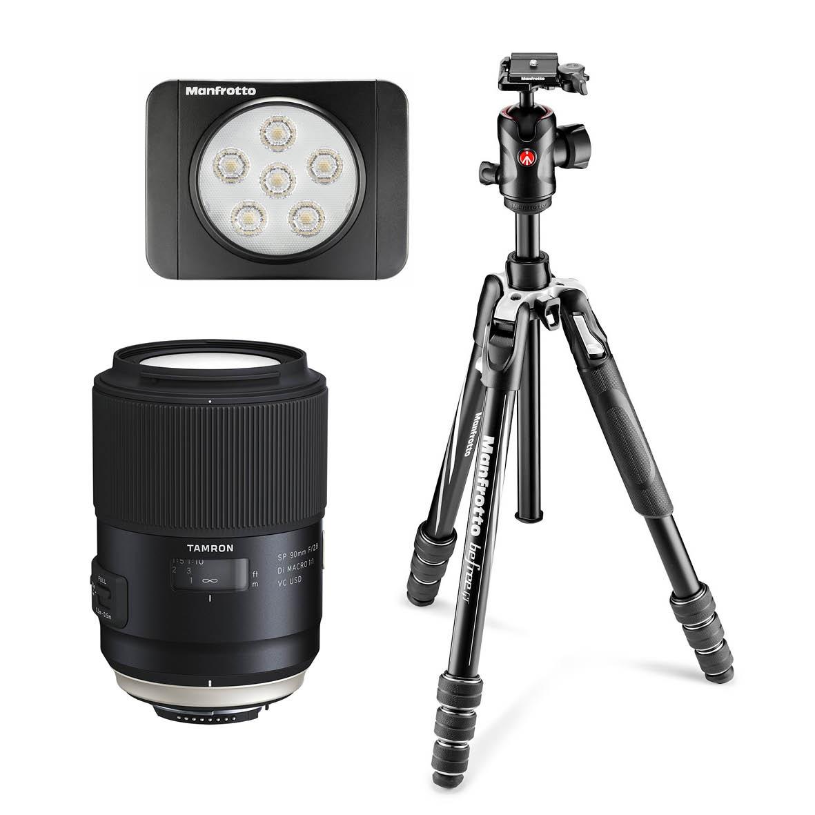 Macro - Sponsored by TamronFirst: Tamron SP 90mm f/2.8 Di VC USD Macro lens, worth $1499Second: Manfrotto Befree GT Aluminium Travel Twist Tripod, worth $499Third: Lumi Art LED Light, worth $139