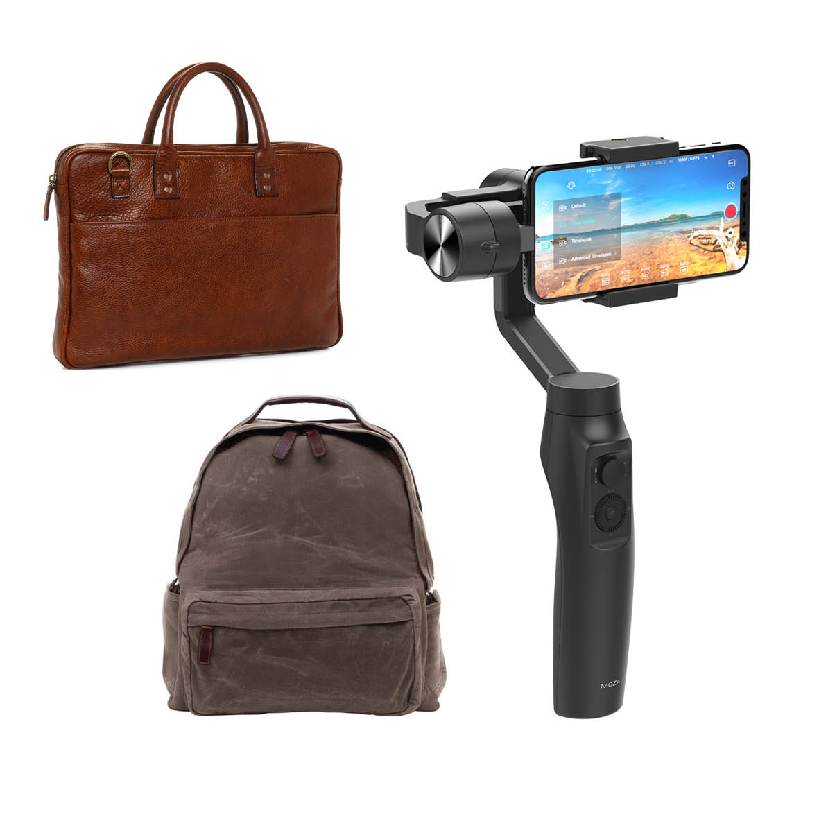 Landscape - Sponsored by SigmaFirst: Ona Bolton Street Backpack, worth $799Second: Ona Leather Laptop Bag, worth $499Third: Moza Mini-Me Smartphone Gimbal, worth $250