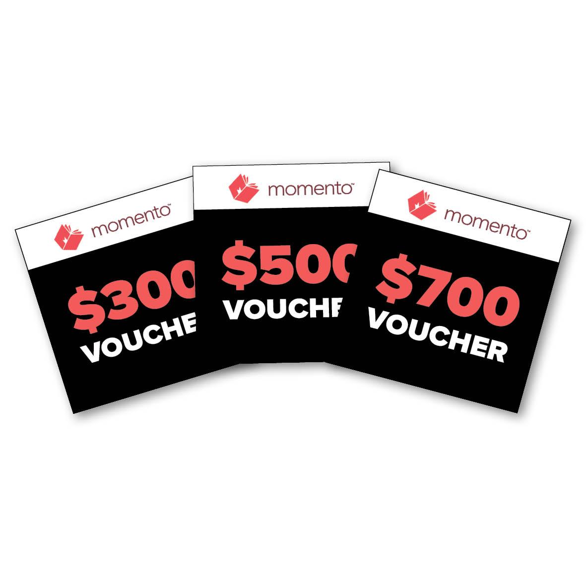 Architecture - Sponsored by MomentoFirst: $700 voucherSecond: $500 voucherThird: $300 voucher
