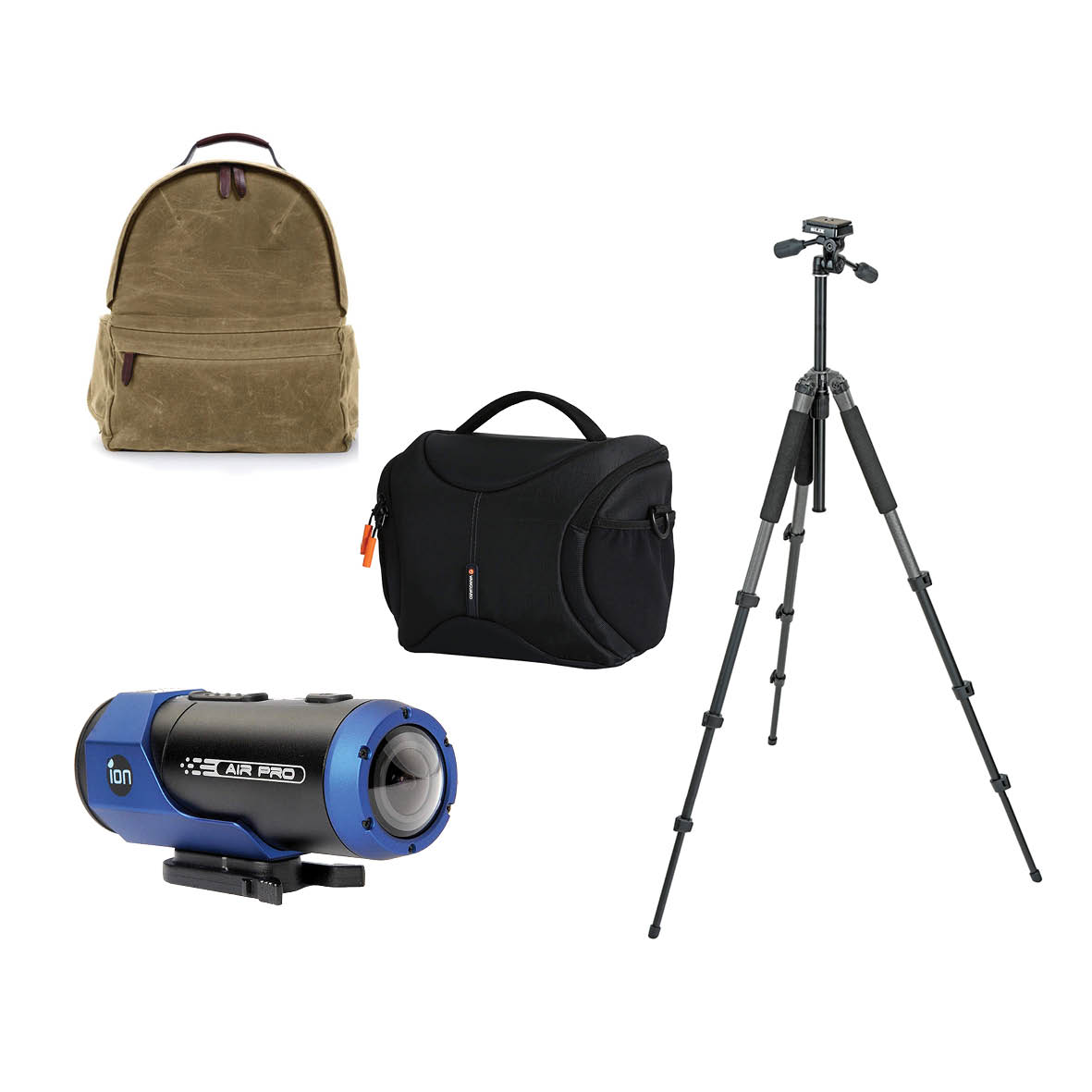 Monochrome - Sponsored by IlfordFirst: Ona Bolton St Backpack, worth $799Second: Slick Sprint Tripod and Vanguard Oslo 25 Shoulder Bag Black, worth $350Third: Ion Action camera, worth $299