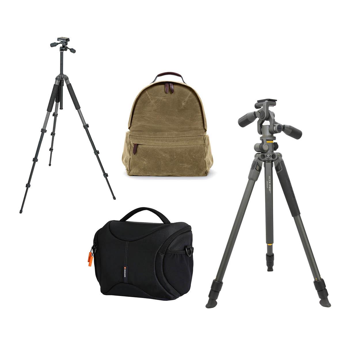 Portrait - Sponsored by ProfotoFirst: Ona Bolton Backpack, worth $799Second: Slick Sprint Tripod and Vanguard Oslo 25 Shoulder Bag Black, worth $350Third: Vanguard Alta Pro 2+ 263AP Aluminium Tripod, worth $280