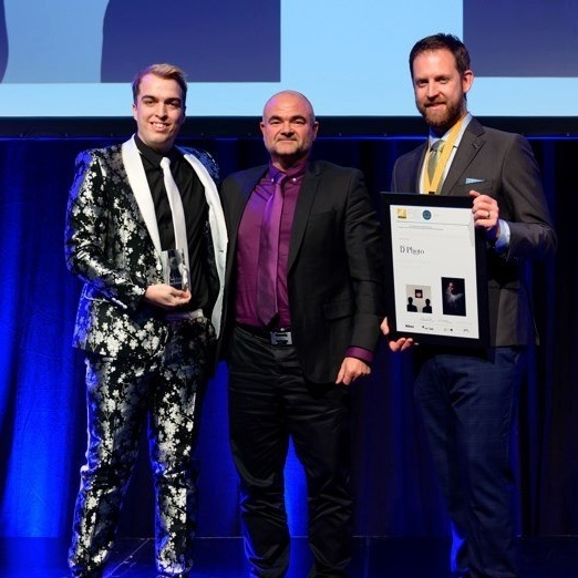 D-Photo present Iris awards student category award to Timothy Lomax
