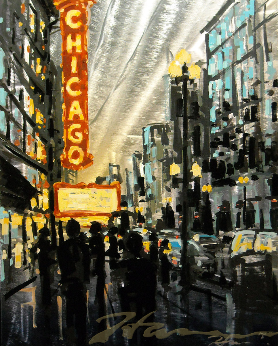 Hustle and Bustle 24x30