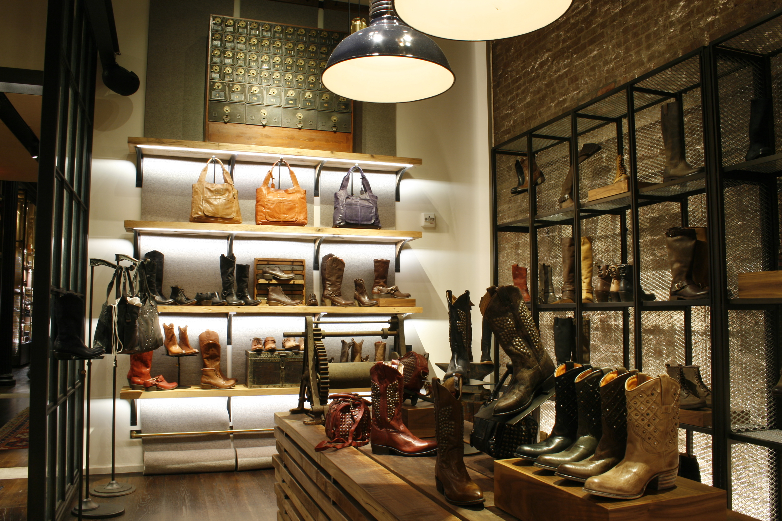 Frye Boots Flagship