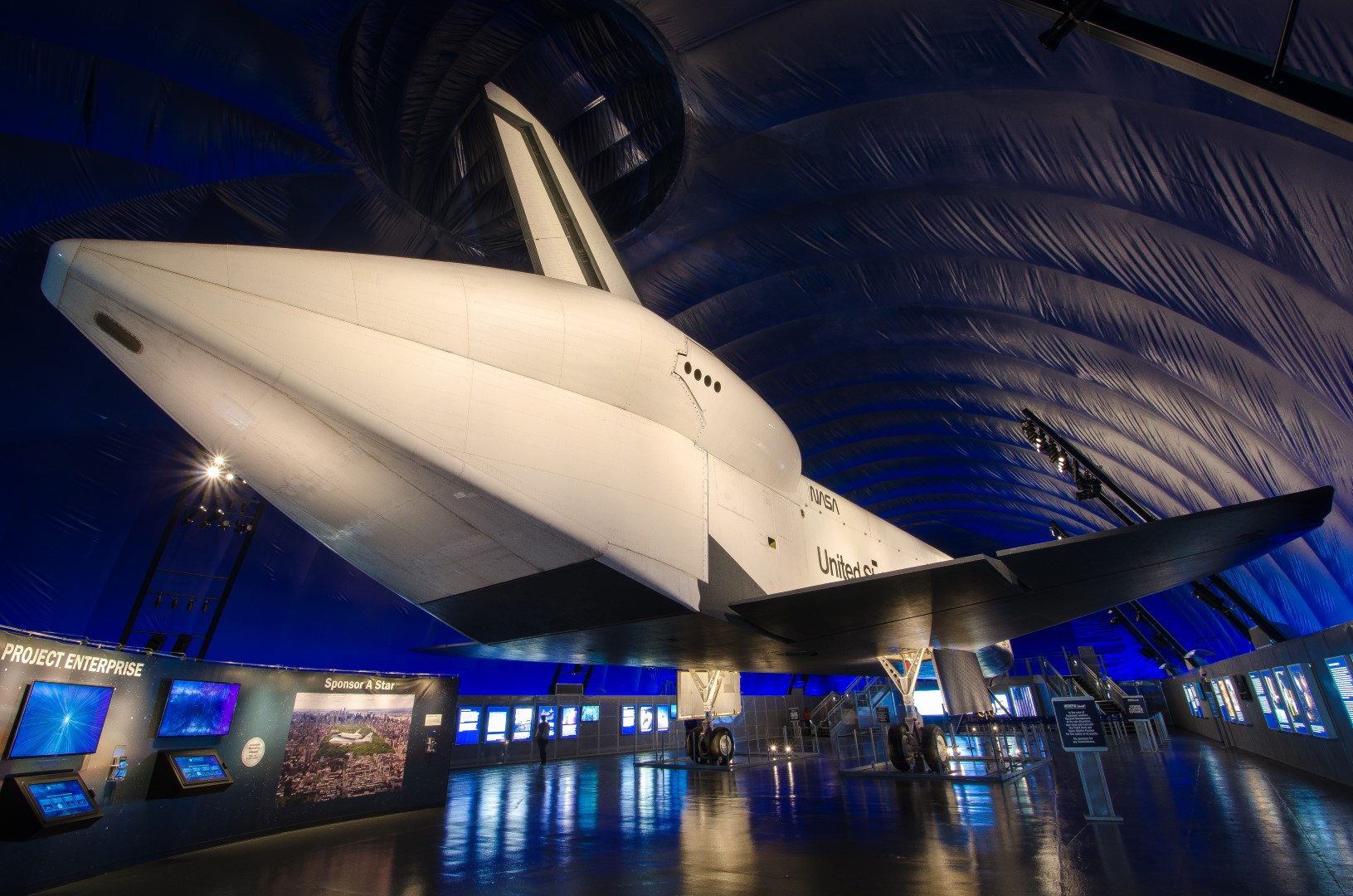 Space Shuttle Enterprise Pavillion
