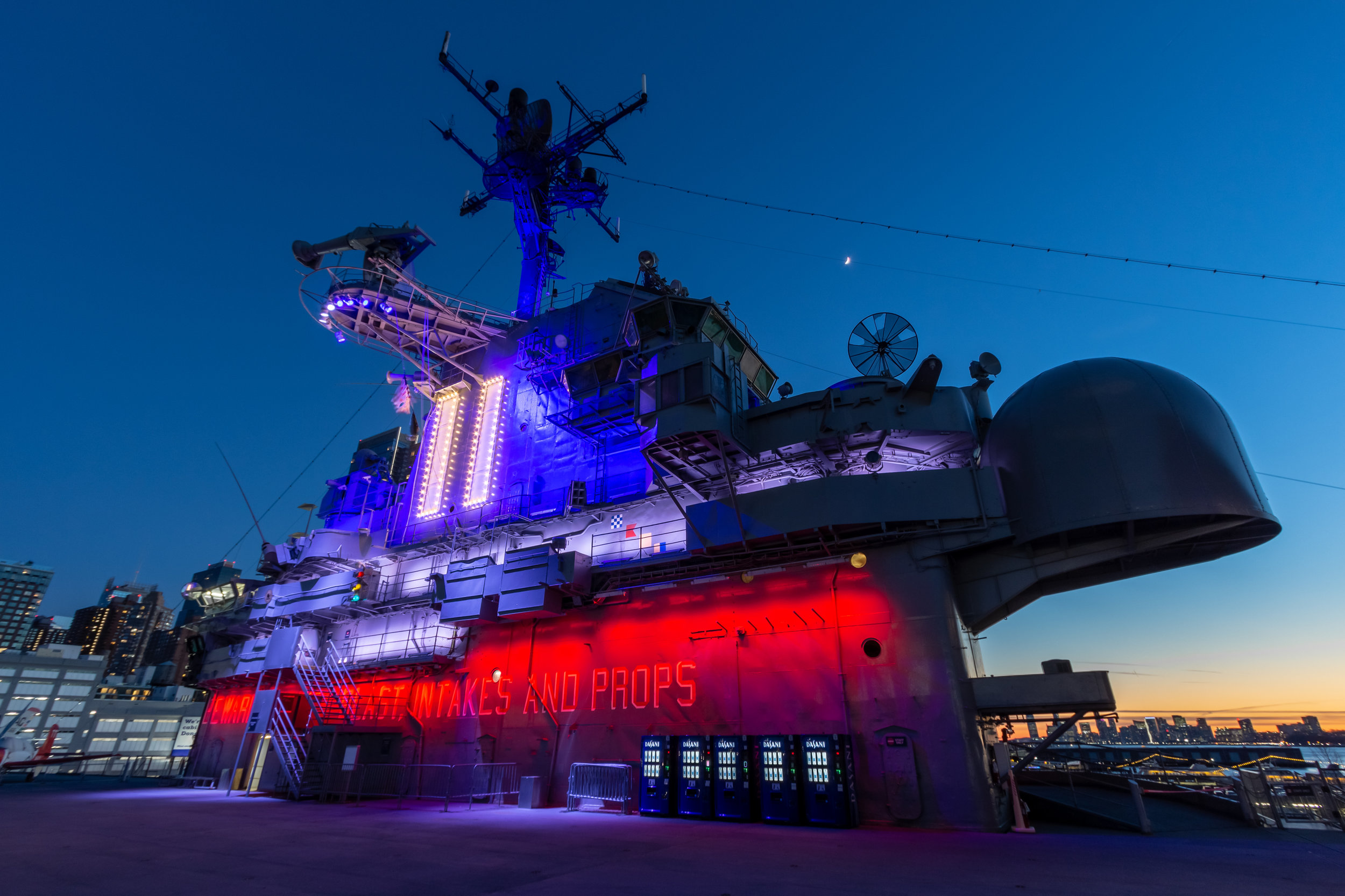 USS Intrepid Command Tower
