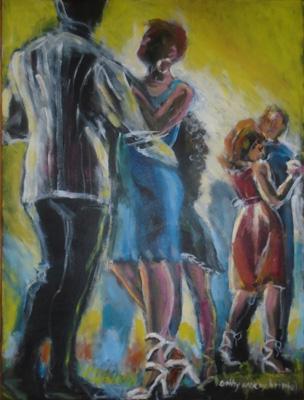 Cathleen McCoy Bristol : acrylic painting