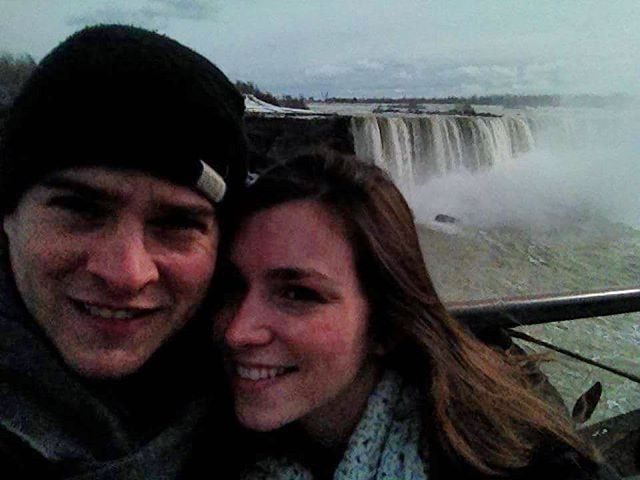 Snapped this pic 6 years ago, but I'm still Niagara Falls-ing for this guy 💕🌊 #tbt