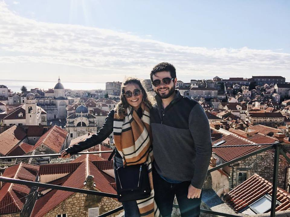 My fiance, Chris & I in Dubrovnik, Croatia, where some of Game of Thrones is filmed!