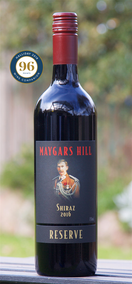 Maygars Hill 2016 Reserve Shiraz named in James Halliday's National Top 50 for 2018
