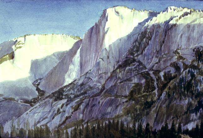 Yosemite Falls, 7 am