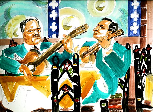 Mexico City musicians